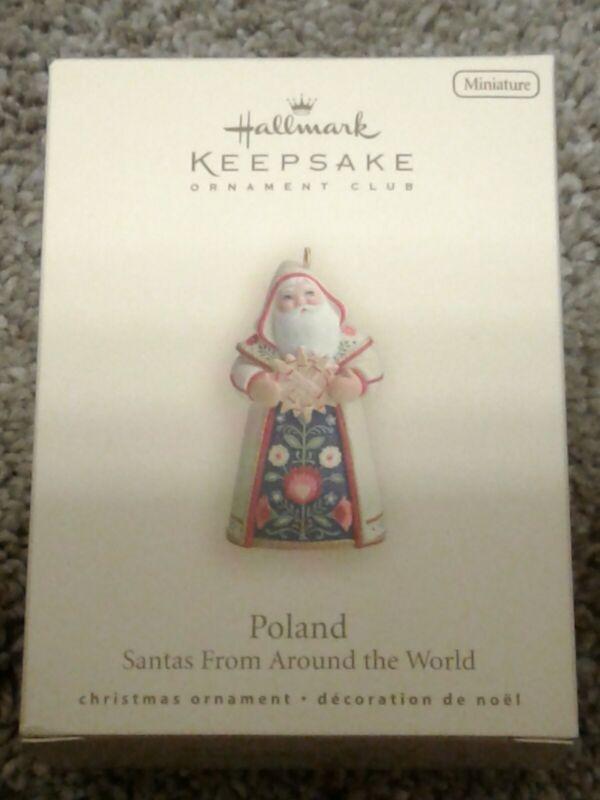 Hallmark Christmas Ornament 2007 POLAND SANTA