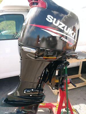 "Johnson 140hp Suzuki DF140 engine complete professionalization Black 20"" or 25"""