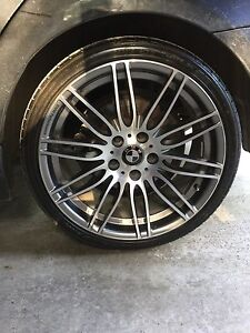 "BMW Performance 19"" staggered wheels + new tires"