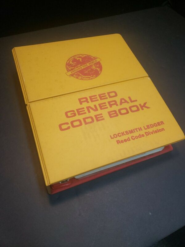 Locksmith Ledger Reed Code Book VOL. 1