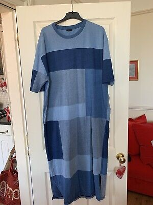 Joseph Patchwork Dress Size Xl