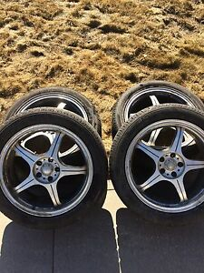 Thunderbird rims and tires