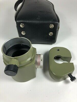 Wild T2 Theodolite Rare Optical Micrometer Counterweight In 1000ths Of A Inch
