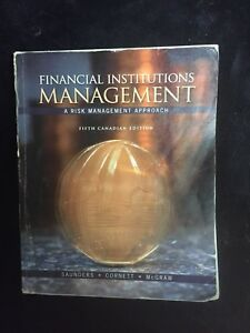 COMM 469: Financial Institutions Management