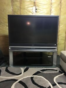 "55"" Sony wega TV and TV Stand"