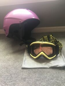 Ski Helmet & Googles