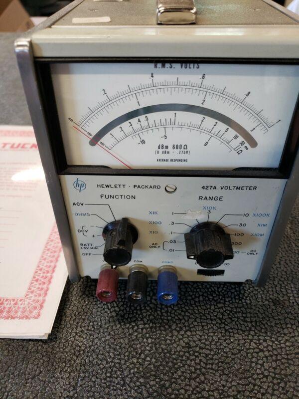 HP Hewlett Packard 427A Voltmeter - FREE SHIPPING!!