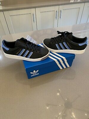 adidas forest hills, black/blue/grey | UK 9 | *EE5749* BNIB