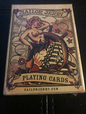Sailor Jerry Playing Cards RARE BRAND NEW SEALED!!