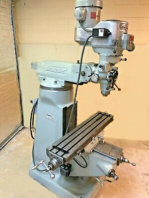 Bridgeport Vertical Milling Series 1 Variable Speed 2j Head 2 Hp Chrome Ways