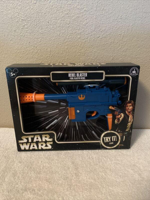 Disney Parks Exclusive Star Wars Han Solo Rebel Blaster NO LONGER IN PARKS!!!