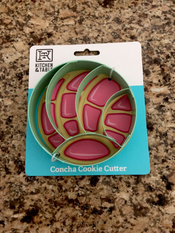Mexican Bread CONCHA Metal Cookie Cutter 4.5 in. Sweet Bread