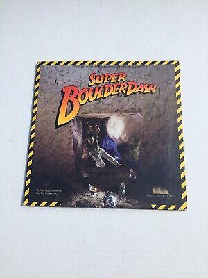 Atari Super Boulder Dash 8-bit 48k 400 800 XL 130 XE Computer Video Game Disk