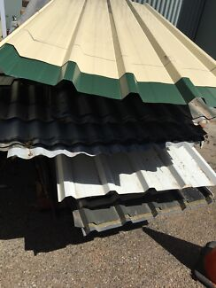 Various corrugated Iron sheeting