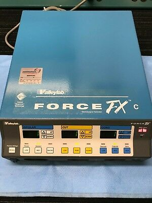 Valleylab Force Fxc Electrosurgical Generator W Mono Bi Ftswch Refurbished