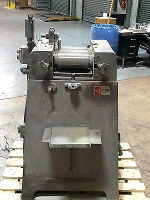 Kent 3 Roll Mill 4 Diameter X 8