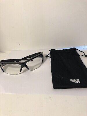 3M  ForceFlex Z87+ Impact Safety Glasses Black Frame Cleat (Z87 Impact)
