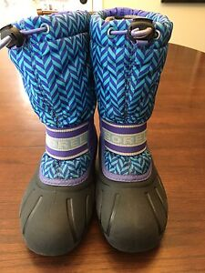 GIRL'S SIZE 13 SOREL WINTER BOOTS