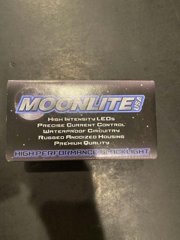 Moonlite Blacklight Half Moon Phone Jack UV Green (phone Plug Not Included)