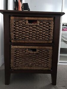 2 x bedside tables Woolloomooloo Inner Sydney Preview