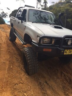 Turbo diesel 2.8 lifted hilux