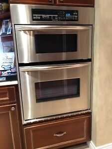 KitchenAid Builtin Microwave oven combo and cooktop