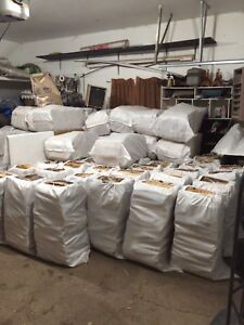 Dry Birch Firewood Large 110lb Bags $35 North Pickup
