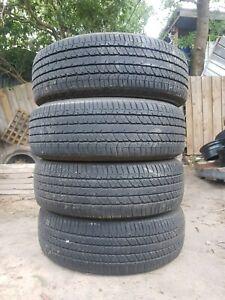 255/70R16 BRIDGESTONE DUELER x4 tyres
