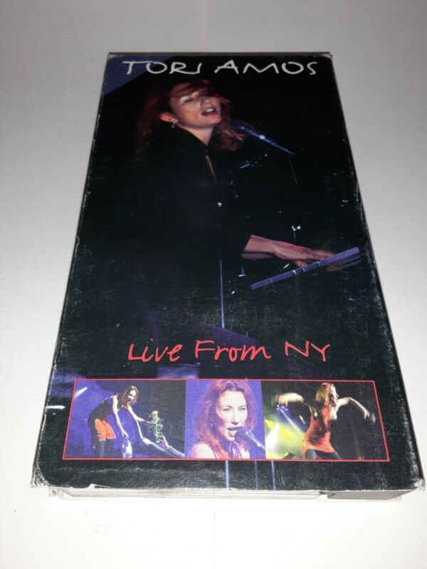 Tori Amos Live From New York On VHS,Used But In Good Condition