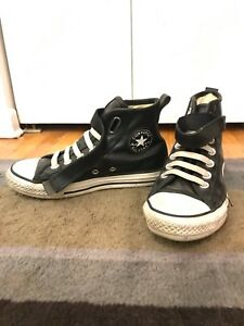 Leather converse size 2 kids