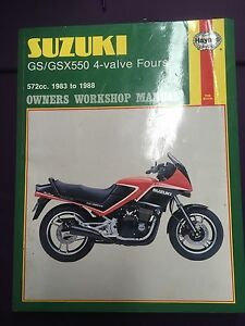 Haynes - Suzuki GS/GSX550 Manual