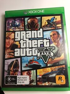 GRAND THEFT AUTO FIVE (XBOX ONE)