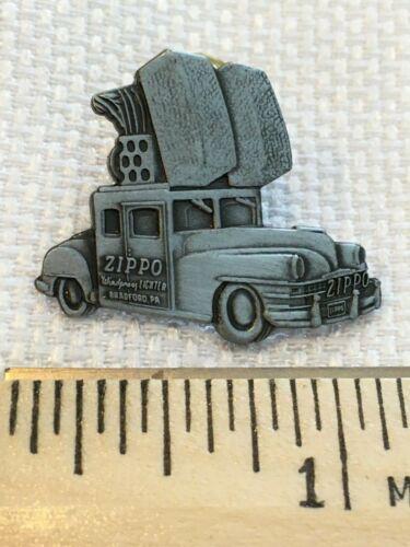 Zippo Lighter Vintage Auto Automobile Bradford Pa Car Pin Tie Tack