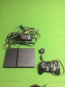 Playstation 2 (PS2) W/ 1 Controller & Cables