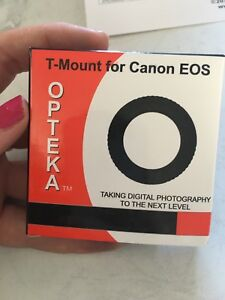 T-Mount for Canon EOS