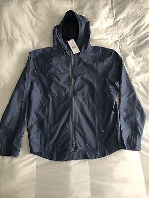 Onia Mens  Parker Hooded Jacket Navy Heather $195 Sz S, L