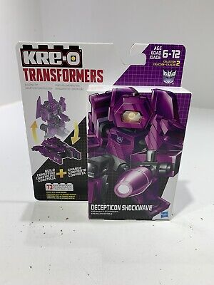 KRE-O TRANSFORMERS DECEPTION SHOCKWAVE KREON BATTLE CHANGER 73 PIECES