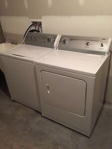 Kenmore like new washer & dryer