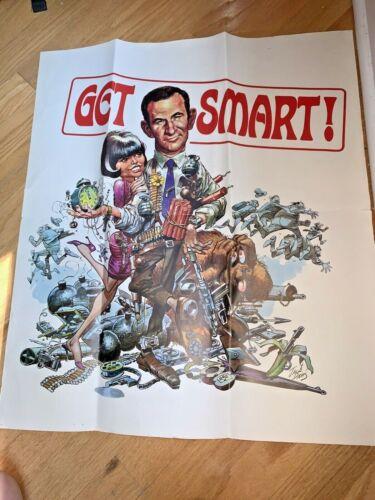 1966 GET SMART - NBC TV TELEVISION SHOW POSTER by Jack Davis