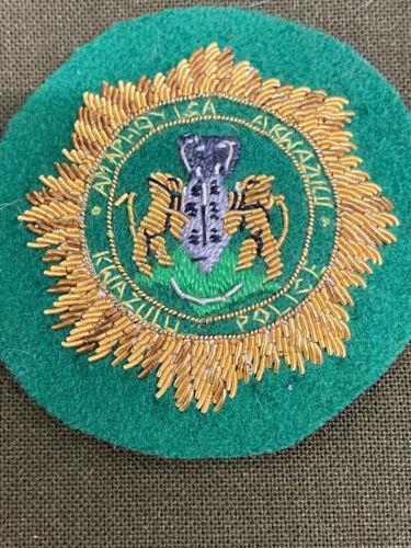 Obsolete Kwazulu Police Senior Officers Bullion Wire Hat Badge South Africa