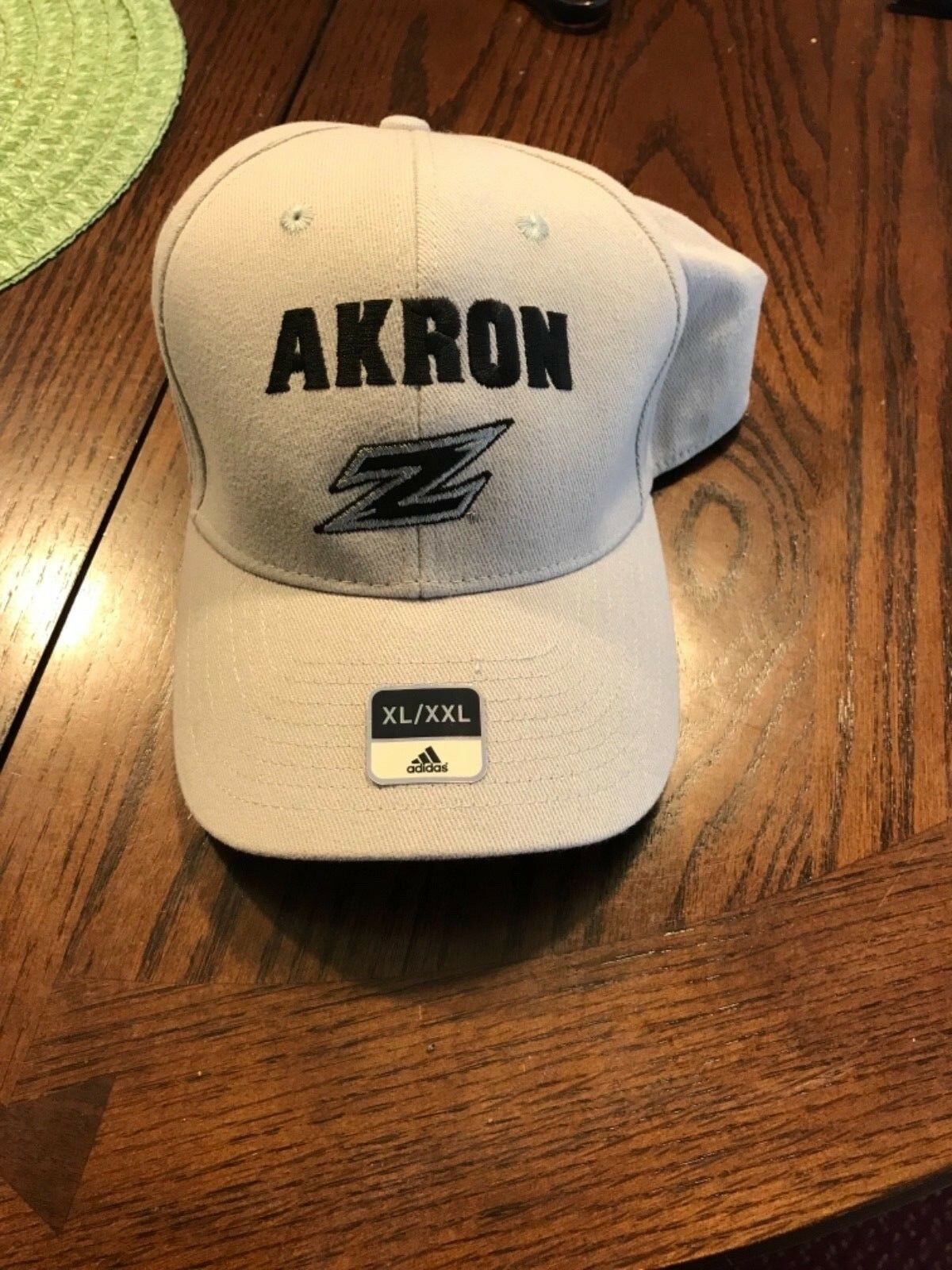 Adidas MENS HAT - AKRON ZIPS - gray - new - football - one s