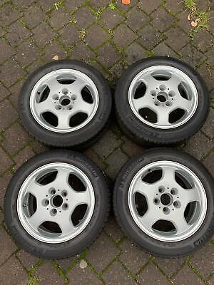 4 Reifen Michelin 205/55 R16 mit Alufelgen für Mercedes CLK