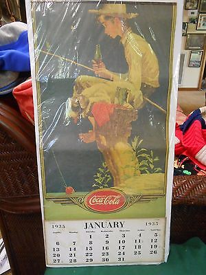 Great Collectible  1935 COCA COLA Calendar by Norman Rockwell......SALE