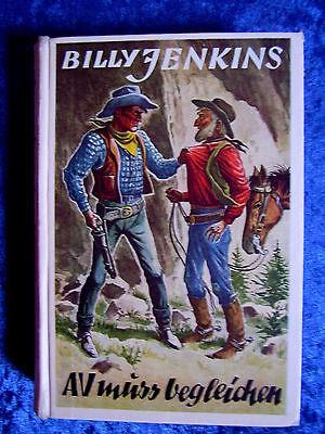 """""""Billy Jenkins Wild-West-Erzählungen – AV muss begleichen (Band 105)"""" (1955)"""