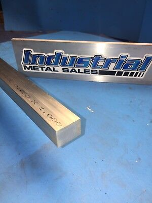 6061 T651 Aluminum Flat Bar 34 X 1 X 12-long--.750 X 1 6061 Mill Stock