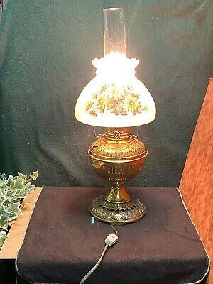 Lantern Pineapple Shape /& Design Farmhouse Lamp Very Clean Kerosene Lamp Vintage Oil Lamp Clear Glass Oil Lamp