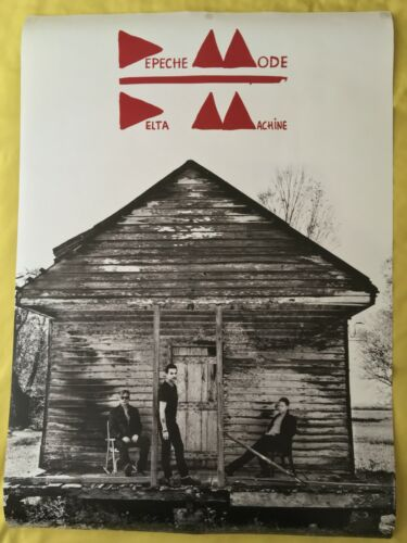 DEPECHE MODE - COLLECTION OF RARE OFFICIAL TOUR POSTER - TOURING ANGEL, TOUR OF