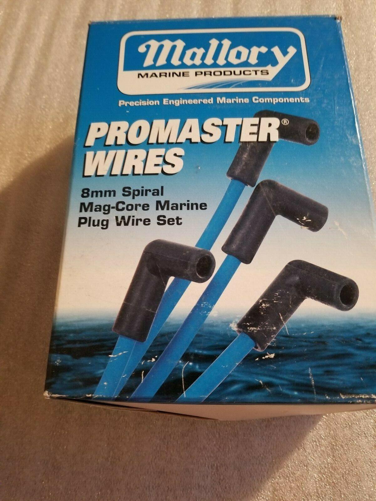Mallory 9-28009 Set Plug Wires V8 84-863656A1 18-88281