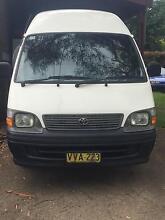 1999 Toyota Hiace Van/Minivan St Ives Ku-ring-gai Area Preview