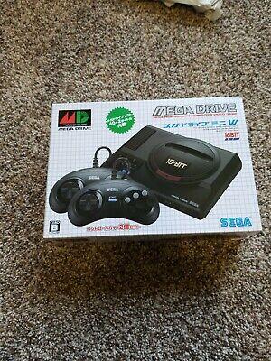 SEGA Mega Drive Mini Asia Edition Original 42 Game 6 Button 2 Controller Console Games Mini Button